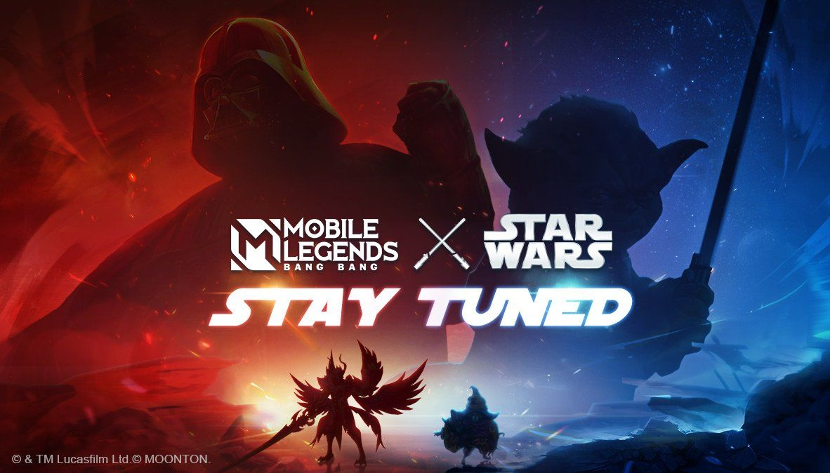 Kolaborasi Dengan Star Wars, Mobile Legends Hadirkan Skin Darth Vader Dan Yoda