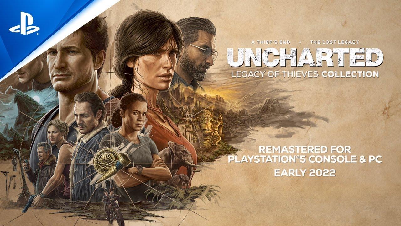 Uncharted 4 And Lost Legacy Dapatkan Remastered Untuk Pc Dan Ps5